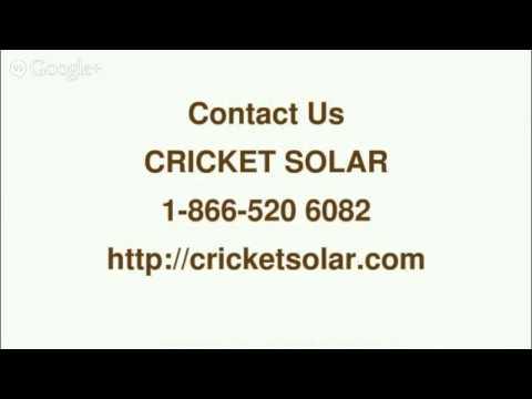 How To Get Solar Panels - 1 866 520 6082-Cricket Solar Toronto,ON
