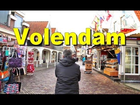 Walk Along VOLENDAM FC Netherlands - Tourism Places In Holland Belanda [HD]