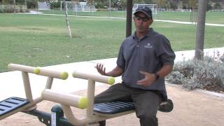 Healthy Mission - Outdoor Fitness Equipment at Oso Viejo park