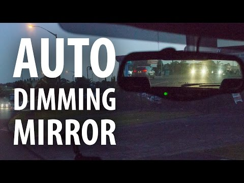 How to: Upgrade to an auto-dimming rear view mirror