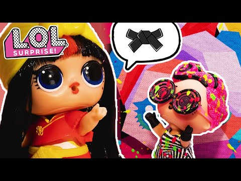 blackbelt-b.b.-teaches-art-school-part-1-|-lol-surprise-dolls-|-stop-motion-cartoon