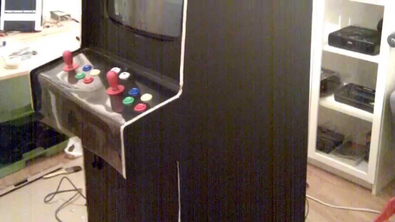 Creando Una Maquina Recreativa Arcade Desde Cero Youtube