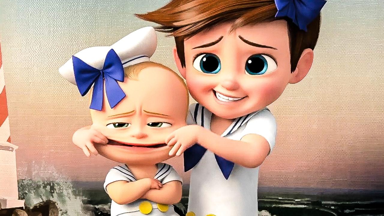 Cute Baby Hug Wallpapers The Boss Baby Awkward Photo Shoot Movie Clip Trailer