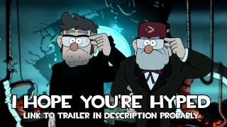 Gravity Falls SDCC 2015 Trailer Music