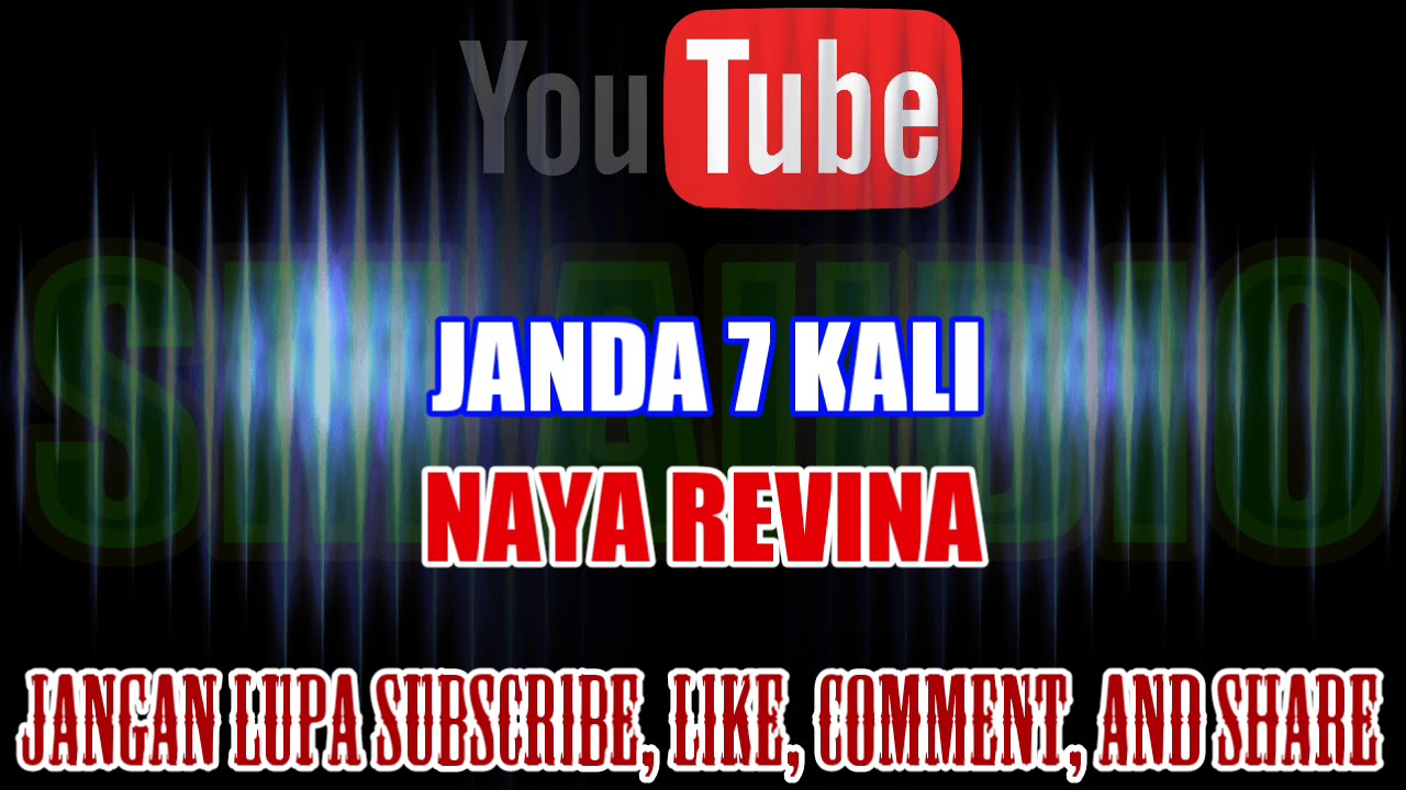 Karaoke Dj Kn7000 Tanpa Vokal Janda 7 Kali Naya Revina Hd Youtube