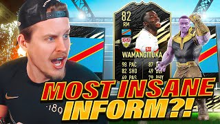 MOST INSANE INFORM EVER?! 82 INFORM WAMANGITUKA REVIEW! FIFA 21 Ultimate Team