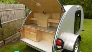 Alpina caravanette teardrop mini caravane