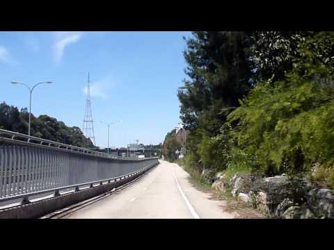 Sydney Bicycle Adventure: Lane Cove to Artarmon-North Shore Cycle Path