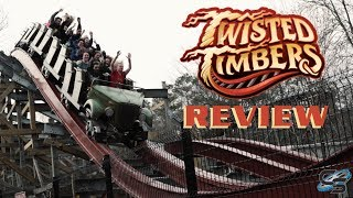 Twisted Timbers Review Kings Dominion NEW FOR 2018 RMC Hybrid