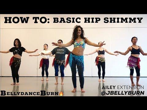 HOW TO: Basic Hip Shimmy Isolation + Level Change & Weight Shift BootyBURN!