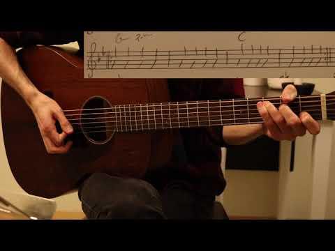 Soft Universe (Aurora) – Guitar lesson