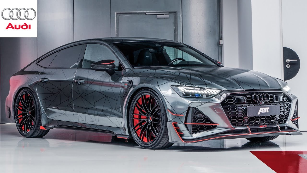 2021 Audi Rs7 R By Abt Limited Special Edition With 740hp Youtube