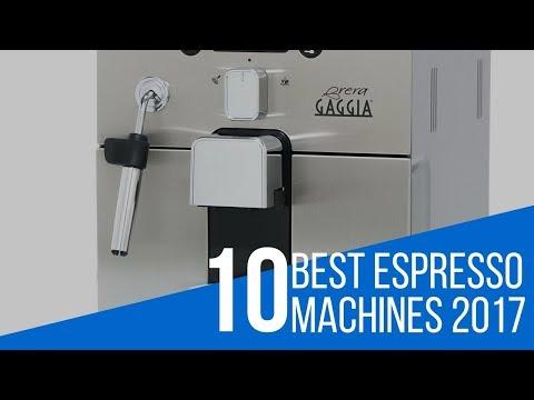 10 Best Espresso Machine Review