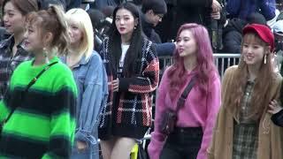 20181019 위키미키(Weki Meki) 뮤직뱅크(MusicBank) 출근길