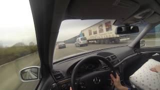 Mercedes-Benz W211 E55 AMG @ A3 Germany