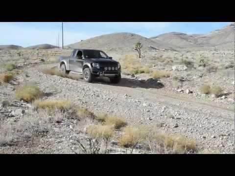 Ford Raptor - Desert Off Roading Demonstration