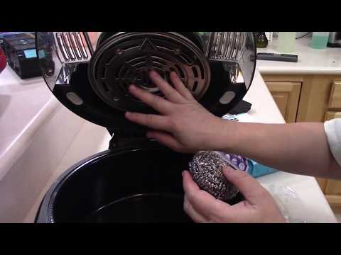 HOW TO CLEAN YOUR DELONGHI AIR FRYER