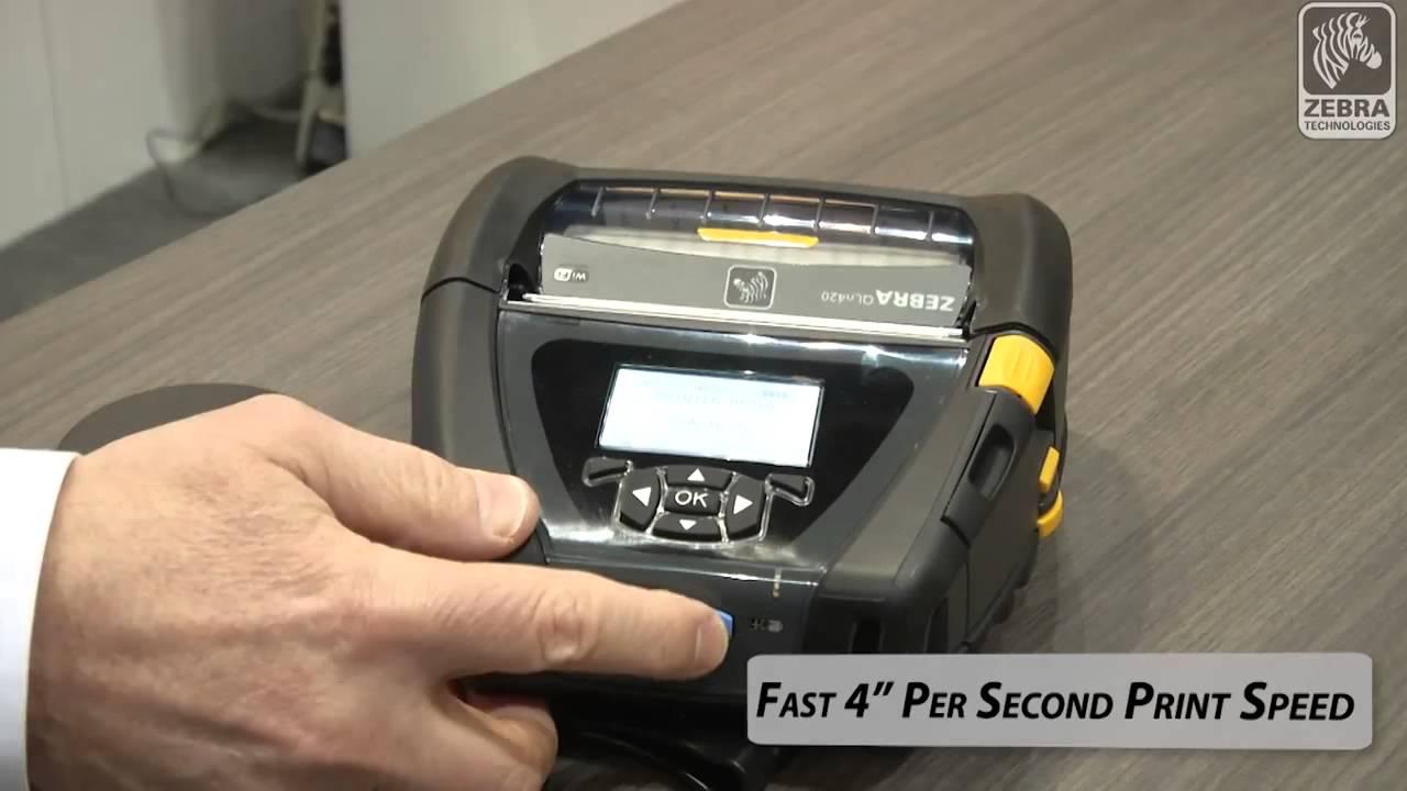 Zebra QLn420 Mobile Printer - Weber