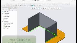 Surface Rip v Creo Parametric 4.0