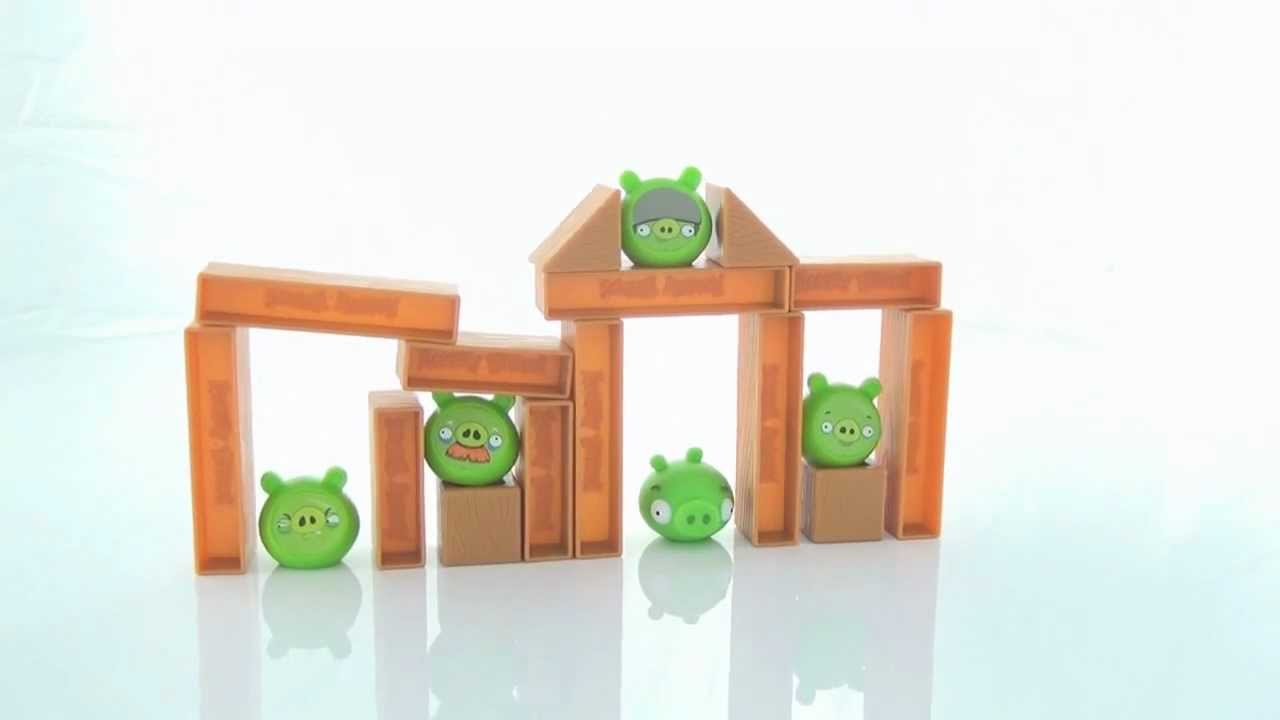 Angry Birds Knock On Wood Game video - YouTube