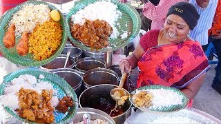 India's Fastest Hardworking Women Selling Cheapest Roadside Meals To Feed Their Family  #streetfood