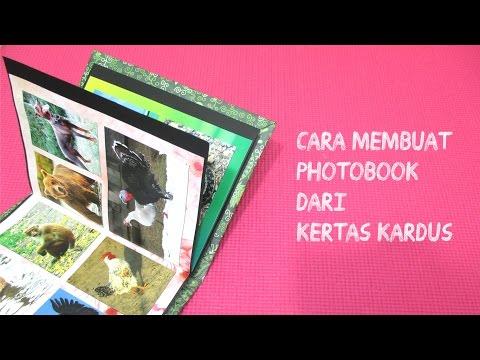 DIY: Membuat PhotoBook Dari Kardus (Album Foto Unik)