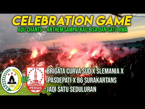 Celebration Game Pss Sleman Vs Persis Solo