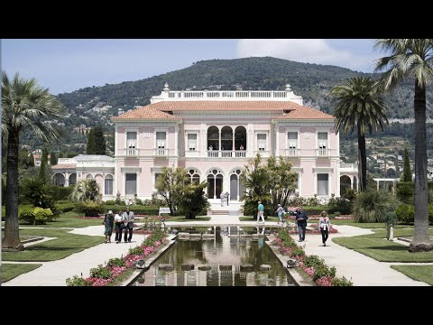 Rothschild Mansion Garden Tour in French Riviera Near Monaco