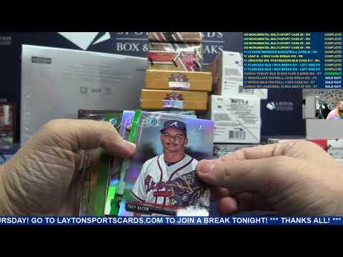 Sunday Funday MLB 20 Box Flawless & More Baseball Mixer – RANDOM TEAMS