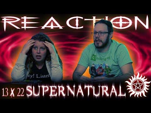 "Supernatural 13x22 REACTION!!! ""Exodus"""