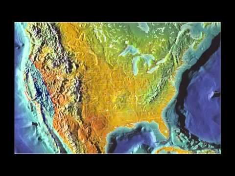 Future Map of North America By Gordon Michael Scallion2037