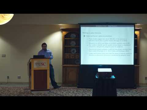 Conference on Genetics and Social Science: Kevin Thom