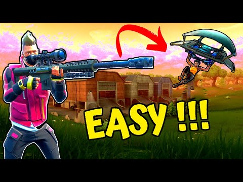 HOW TO SNIPE MOVING TARGETS | Use THIS To Practice In Season 10 - Fortnite Tips And Tricks