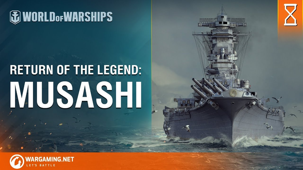 World of Warships – Return of the Legend: Musashi