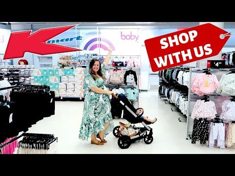 KMART SHOP WITH ME FOR THE NEW BABY | AUTUMN 2019