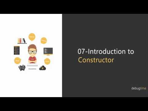 7 - C# Tutorial in Hindi and Urdu - Constructor in C#
