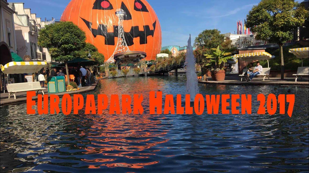Die Halloween Saison 2017 Im Europapark Epfan95 Videoblog 15