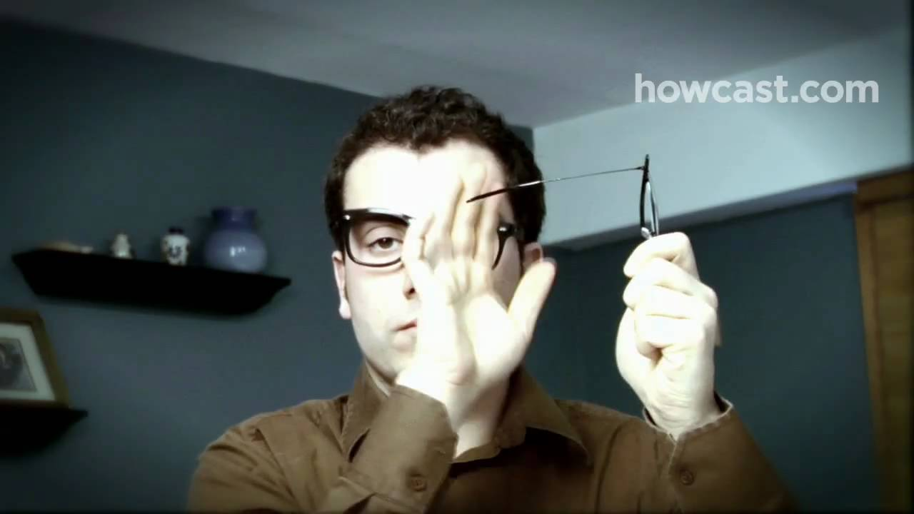 0b9a60746ad How to Repair Your Eyeglasses - YouTube