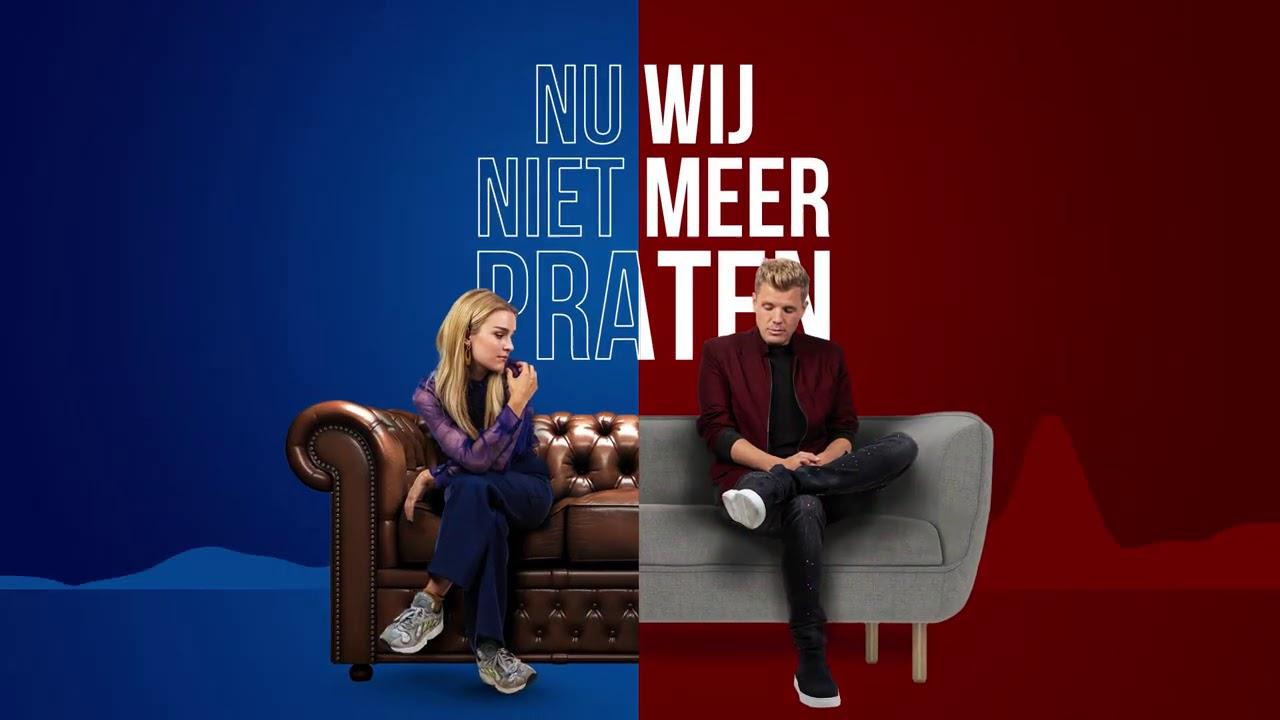 NEDERLANDSTALIGE TOP 30: Ook deze week 'Nu wij niet meer praten' van Jaap & Pommelien op 1