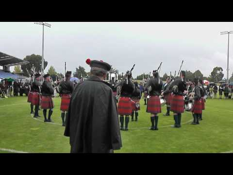 Auckland & District Pipe Band MSR NZ Nationals 2017
