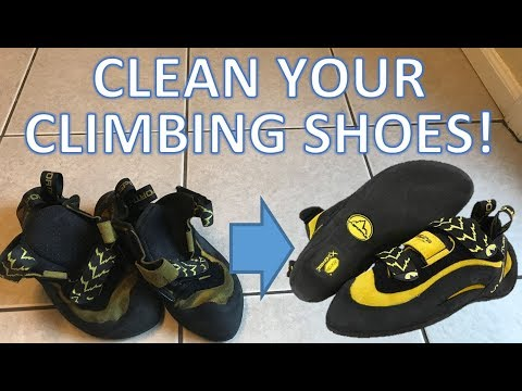 How to Clean Your Climbing Shoes