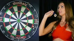 Walk on Girl Daniella Allfree - The Double Darts Challenge