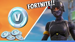 SWEDENS BIGGEST V-BUCKS GIVEAWAY IN FORTNITE! (Tant de vbux)