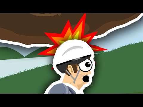 WHY YOU SHOULD WEAR A HELMET.. | Happy Wheels