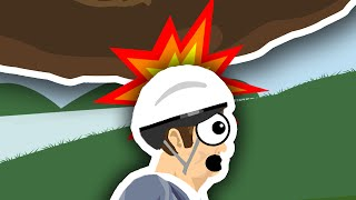 WHY YOU SHOULD WEAR A HELMET.. | Happy Wheels thumbnail