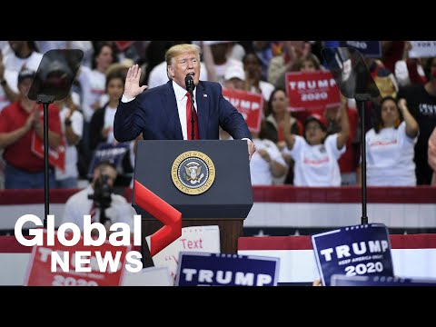 U.S. President Trump holds rally in Dallas, Texas