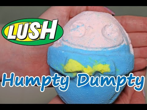 Lush - Humpty Dumpty Bath Bomb - Underwater View - Demo - Review