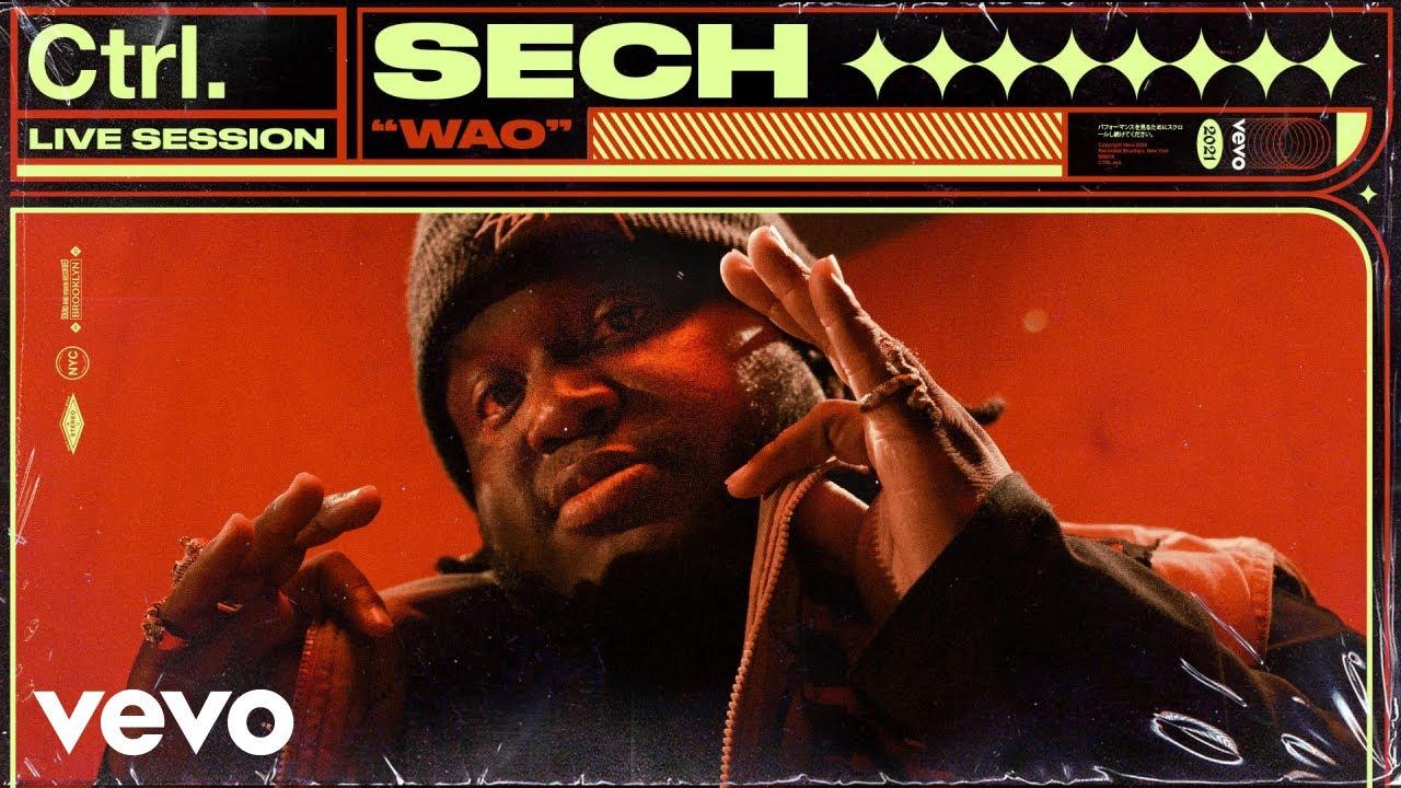 Sech - Wao (Live Session) | Vevo Ctrl