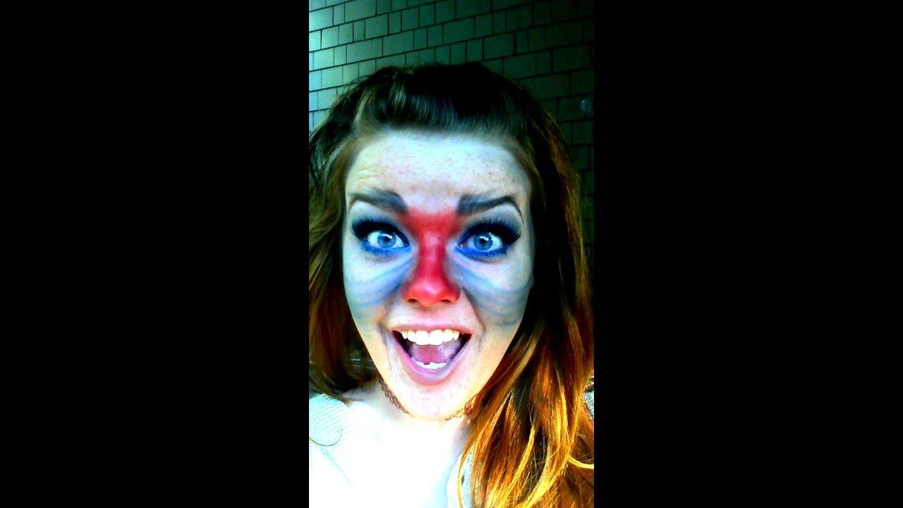 Zazu Lion King Face Paint