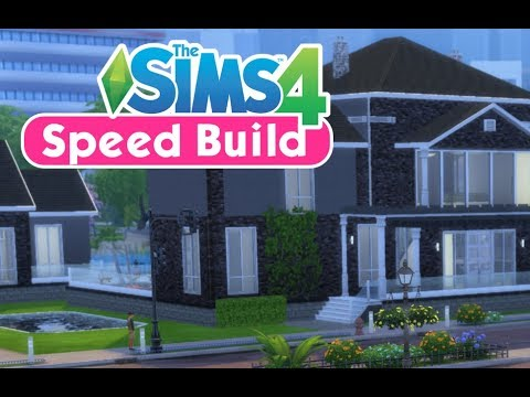 The Sims 4 Speed Build // Toddler Stuff // Cobb Family Home - YouTube